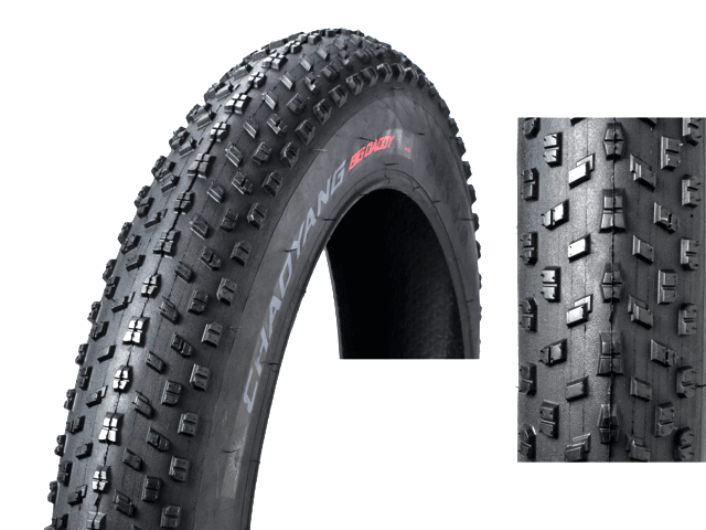 "Велопокрышка 24"" х 4.0"" H-5176 Chao Yang (FAT BIKE) арт. 620107"